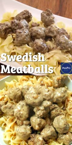 Meatballs *VIDEO* Swedish Meatballs - If you love IKEA's meatballs, then watch out! These are better in my opinion and oh so tasty!*VIDEO* Swedish Meatballs - If you love IKEA's meatballs, then watch out! These are better in my opinion and oh so tasty! Beef Dishes, Pasta Dishes, Food Dishes, Main Dishes, Beef Recipes For Dinner, Ground Beef Recipes, Cooking Recipes, Beef Recipe Video, Beef Ball Recipe