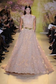 Couture Week Fugs and Fabs: Zuhair Murad Zuhair Murad Spring 2014 HC – Go Fug Yourself