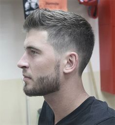 mande frisure kort hår