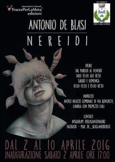 2-10 aprile 2016 - Antonio De Blasi - Nereidi - Mostra di pittura Inaugurazione 2 aprile 2016 ore 17:00