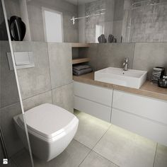 Bathroom Layout, Bathroom Interior Design, Bathroom Styling, Bathroom Storage, Grey Bathrooms, White Bathroom, Small Bathroom, Wc Design, House Design