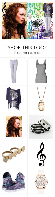 """""""coming """"home"""""""" by manderine2 ❤ liked on Polyvore featuring Topshop, Vince, Erica Anenberg, Mi Lajki, Supra and GUESS"""