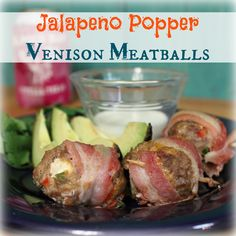 Jalapeno Popper Venison Meatballs | My Wild Kitchen - Your destination for wild recipes
