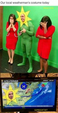 FunnyMemes About Weatherman vs. Costume funnyjokes