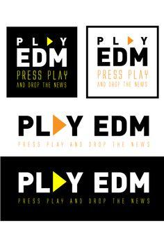 Logo PLAY EDM - Elaborado por Cassibox Design
