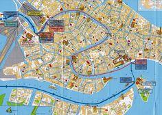 City Map Venice (venezia)