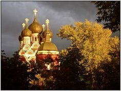Church of St. Sergius of Radonezh, Moscow, Russia