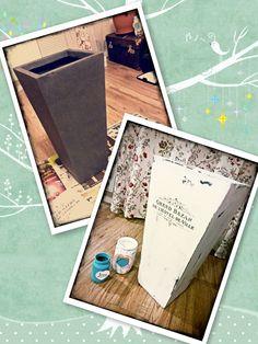 Shabby Inspiration Chic DIY Decoration Vase Distress Transfer Solution Chalky Pait Dekor Paint Soft Renovation