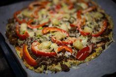 Kukkakaali (pohja) pizza
