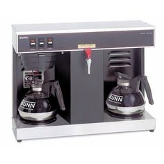 Bunn Commercial Coffee Makers for Sale . Information Bunn Commercial Coffee Makers for Sale . Bunn Gmb Ps Commercial Airpot Coffee Brewer Platinum Series W Water Coffee Maker Reviews, Best Coffee Maker, Drip Coffee Maker, Industrial Coffee Maker, Commercial Coffee Makers, Bunn Coffee, Coffee Shop Business, Automatic Coffee Machine, Amazon Coffee