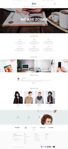 Zorka - An Intuitive Fashion HTML5 Template #html5templates #psdtemplates #responsivedesign #webtemplates