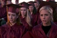Pin for Later: Onscreen Graduations That Make Us Want to Go Back to School Buffy the Vampire Slayer