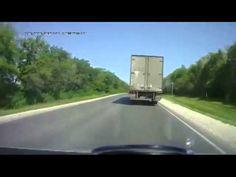 Подборка аварий за май 2013 года на дорогах с видеорегистратора