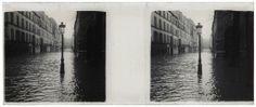 Paris, Le quai d'Orsay inondé. 1910.