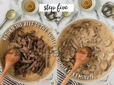 A bowl of food on a plate, with Beef and Laser Easy Stroganoff Recipe, Crock Pot Stroganoff, Recipe For Beef Stroganoff, Baked Lasagna, Lasagna Casserole, Chicken Dumplings Easy, Still Tasty, Creamy Mashed Potatoes, How To Cook Eggs