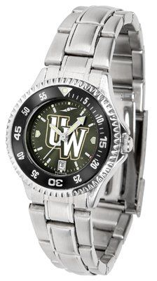 Wyoming Cowboy Joe- University Of Competitor Anochrome - Steel Band W/ Colored Bezel - Ladies - Women's College Watches by Sports Memorabilia. $87.08. Makes a Great Gift!. Wyoming Cowboy Joe- University Of Competitor Anochrome - Steel Band W/ Colored Bezel - Ladies