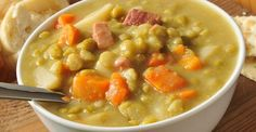 SLOW COOKER SPLIT PEA SOUP – Skinny and Healthy