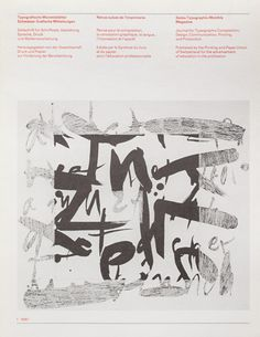 TM SGM RSI, Typografische Monatsblätter, issue 1, 1987. Cover designer: Jean-Pierre Graber