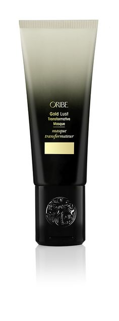 Oribe Gold Lust Transformative Masque - Restore overworked hair to its prime with each dose. #goldlust #oribehair