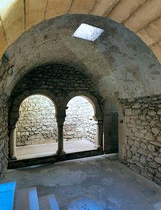 frigidarium — Banys Àrabs a Girona, Catalonia