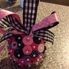 ornament ideas | Button ornament | Craft Ideas