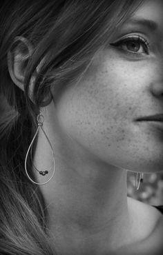 Guitar string earrings - Bluce Designs via Etsy