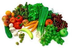 vegetais e fruta