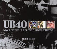 UB 40 Labour Of Love 1 2 & 3 The Platinum Collection (2003) 3 CD 1° STAMPA!!