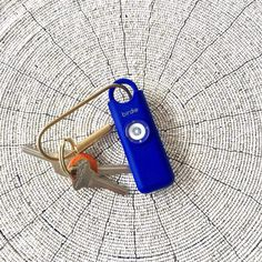 Amazon.com : She's Birdie––The Original Personal Safety Alarm for Women by Women––130dB Siren, Flashing Strobe Light, Solid Brass Key Chain and Key Ring in 5 Pop Colors. (Charcoal) : Camera & Photo Strobe Light, Personal Safety, Listen To Your Gut, Solid Brass, What In My Bag, Strobing, Self Defense, Color Pop, Meet