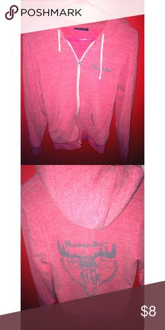 Moose Jaw sweatshirt meant to look worn out and old, with cool print on back moosejaw Tops Sweatshirts & Hoodies