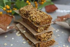 pumpkin granola bars: easy, yummy and yes, low FODMAP!