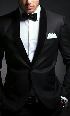 Formal Black Tuxedo - Timeless Classic
