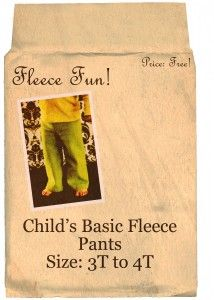 basic pants child 3t to 4t