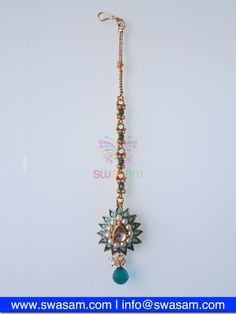 Indian Jewelry Store | Swasam.com: Tikka with Perls and White Stones - Tikka - Jewelry Shop to Buy The Best Indian Jewelry  http://www.swasam.com/jewelry/tikka/tikka-with-perls-and-white-stones-1475.html?___SID=U  #indianjewelry #indian #jewelry #tikka