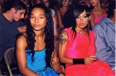 Chilly and Lisa Left Eye Lopez of TLC