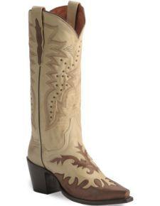 Dan Post Wynona Wingtip Cowgirl Boots - Snip Toe