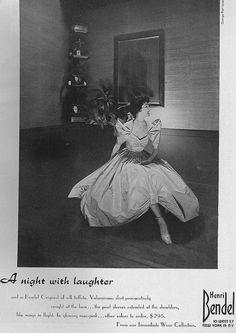 Harper's Bazaar, September 1953 Henri Bendell