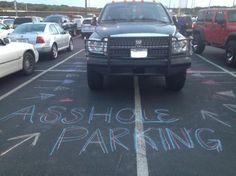buiten te lijntjes parkeren, VS