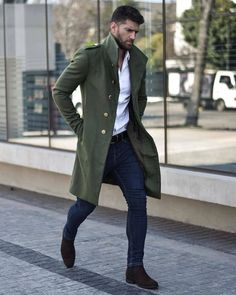 Moda giovane e rilassata presso FARM Mens Spring Fashion Outfits, Mens Fashion Suits, Best Winter Outfits Men, Men Winter Fashion, Classy Mens Fashion, Winter Wear For Men, Winter Suit, Mens Winter Coat, Style Fashion