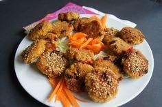 Couscous - Buletten vegane einfache und leckere Rezepte findest du auf meinem Blog. Für dieses Gericht benötigst du couscous, Paprikaschote...