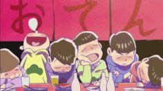 Drunk/Osomatsu,Karamatsu, Choromatsu,Ichimatsu, Jūshimatsu,Todomatsu/ Osomatsu-san