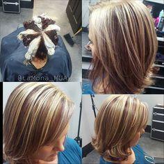 """Képtalálat a következőre: """"pinwheel haj"""" Hair Color Highlights, Blonde Color, Hight Light, Hair Color Techniques, Hair Affair, Love Hair, Hair Dos, Diy Hairstyles, Hair Hacks"""
