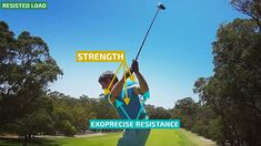 Starting your backswing resistance builds strength in critical golf power muscles; improving mechanics, and triggering club head speed on your downswing. #GolfPrecise57PowerSwingTrainer. Globally patented #Exoprecise resistance strengthens #PowerGolf muscles, improves #ClubheadSpeed, #BallStriking accuracy, and #GolfSwingMechanics. All you have to do is wear it and play the #GolfCourse or #GolfPracticeRange! Wear for 18, at the #DrivingRange, #HitIrons and the #GolfPutting green. Seamlessly…