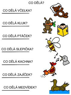 Pro Šíšu: Pracovní listy ČTEME PÍŠEME Kindergarten Activities, Activities For Kids, Word Art, Montessori, Homeschool, Language, Teaching, Education, Milan