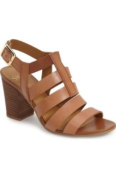 e2b366ed1b65 Franco Sarto  Montage  Leather Sandal (Women) available at  Nordstrom Block  Sandals