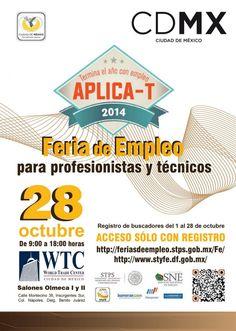 """Feria para profesionistas y técnicos """"Aplica-T"""""""