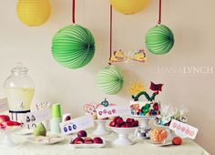 Party Frosting: Very Hungry Caterpillar ideas/inspiration