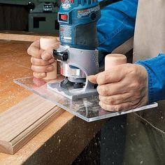 Trim Router Base Upgrade | Woodsmith Tips #WoodworkingTools