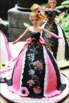 Barbie (Princess) or Doll Cake | Where Everything Is Made With Love