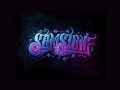 Typography in Night on Behance